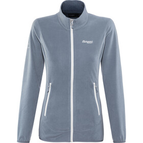 Bergans Lovund Fleece Jacket Dame fogblue/aluminium